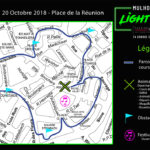 Parcours Light Run Mulhouse